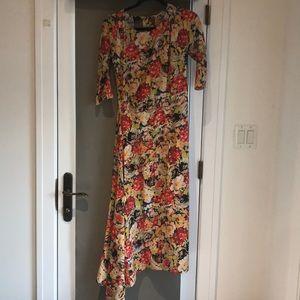 Prada floral print dress, IT 38